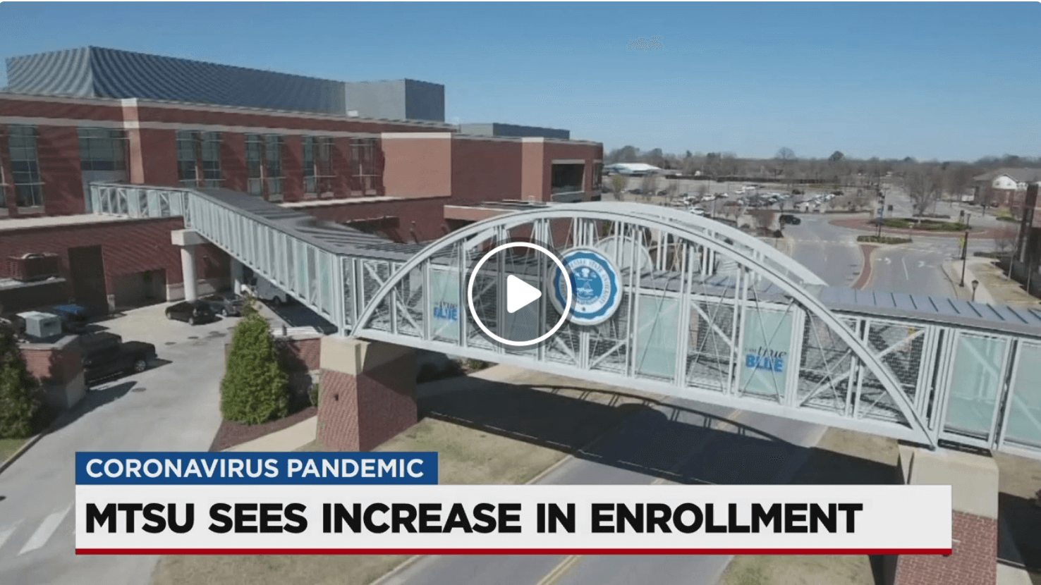 MTSU Sees Increase in Enrollment