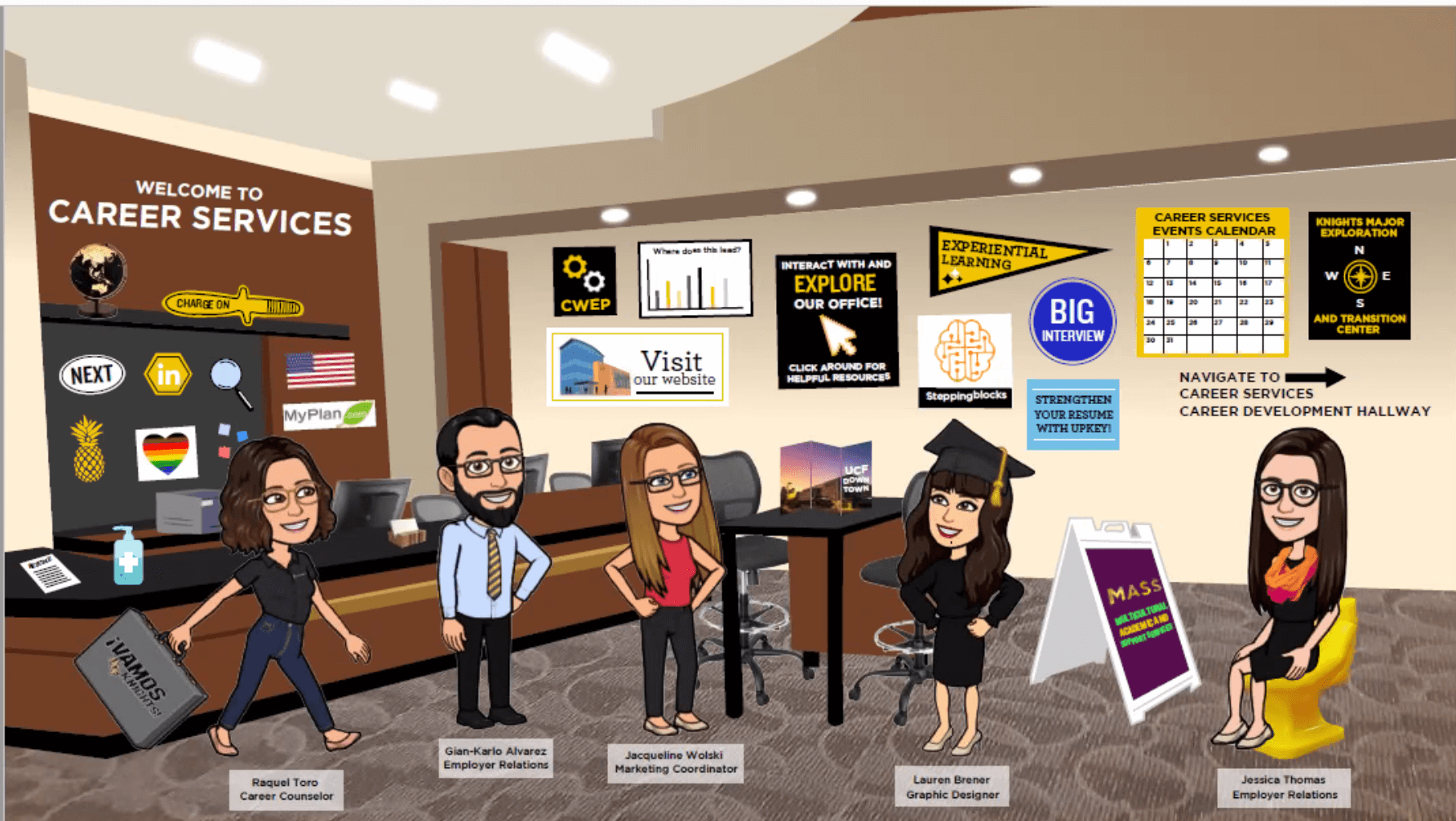 University of Central Florida's Virtual Career Services