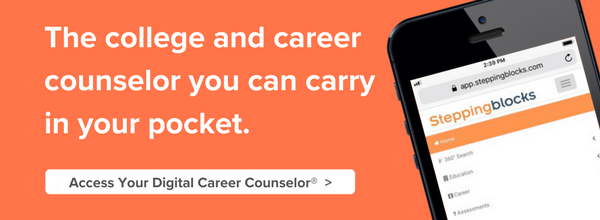 Steppingblocks is your Digital Career Counselor.