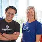 Carlo Martinez and Erin Pearson